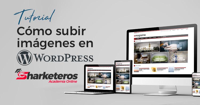 Cómo subir imágenes en WordPress