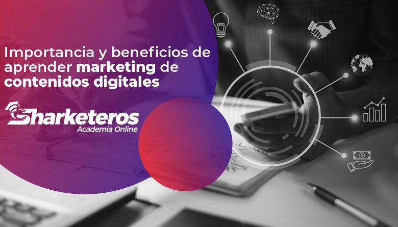 Importancia y beneficios de aprender marketing de contenidos digitales